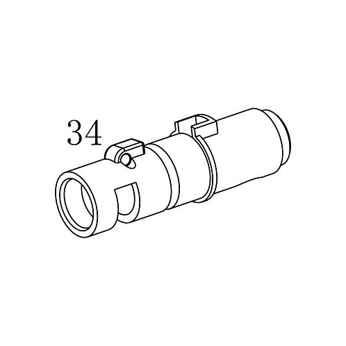 PTS PDR-C AEG Replacement Parts (34) Hop-up housing
