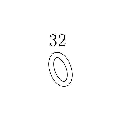 PTS PDR-C AEG Replacement Parts (32) O-ring