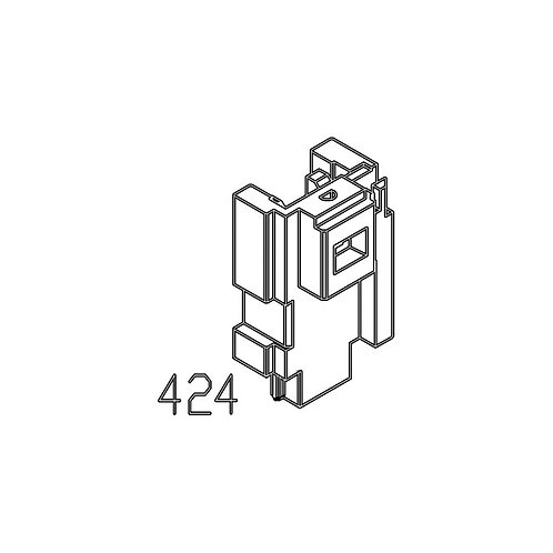 PTS Masada GBB Replacement Parts (424) Mechanism Block