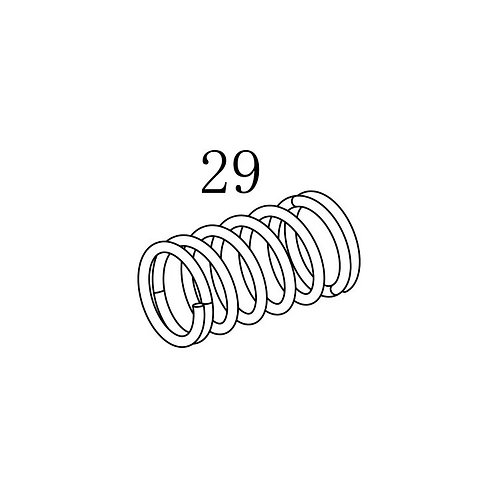 PTS PDR-C AEG Replacement Parts (29) Detention Spring