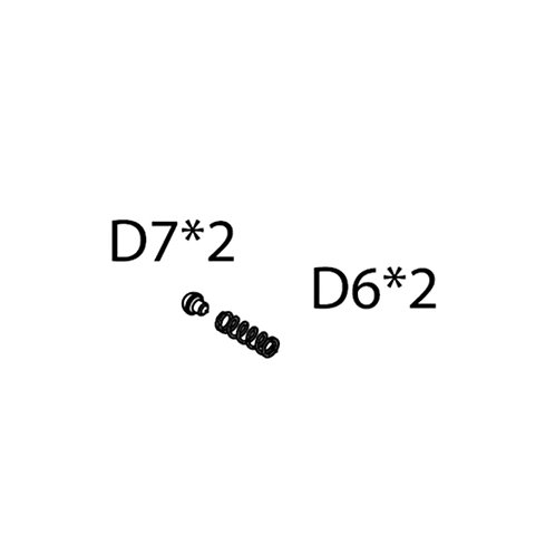 PTS AEG Masada Replacement Parts (D6) - Selector Bearing