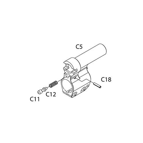 PTS Masada AEG Replacement Parts (C12) - Spring