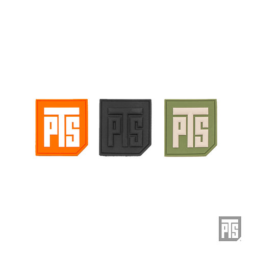 "PTS Logo 1.5"" PVC Tab Patch"