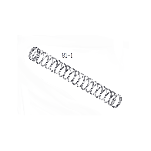 PTS Mega Arms MML Maten GBB Replacement Parts (81-1)  - Recoil SP