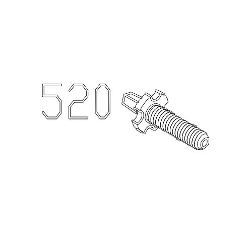 PTS Masada GBB Replacement Parts (520) Front Sight
