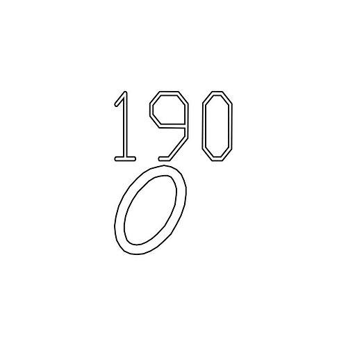 PTS Masada GBB Replacement Parts (190) E-022, O Ring dia.8x1