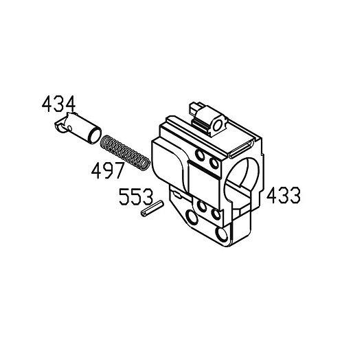PTS Masada GBB Replacement Parts (433+434+497+553) - Barrel Set Block