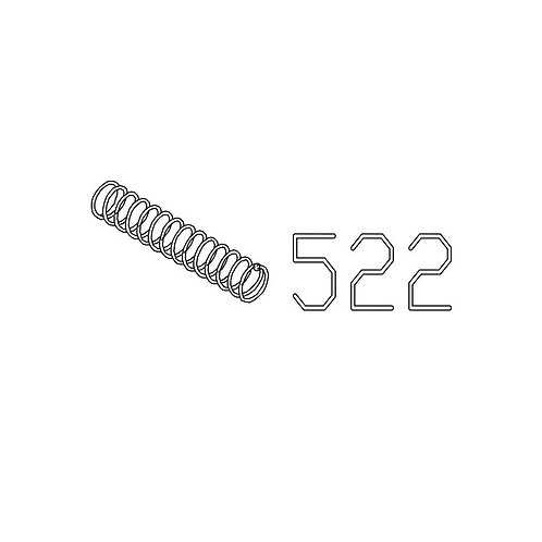 PTS Masada GBB Replacement Parts (522) Front Sight Lock Pin Spring