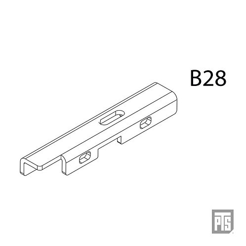 PTS Masada AEG Replacement Parts - MSD Actuator  (B28)