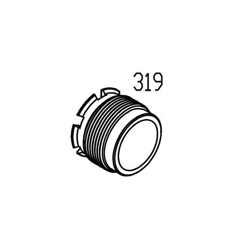 PTS Mega Arms MKM GBB Replacement Parts (319) - Barrel Nut