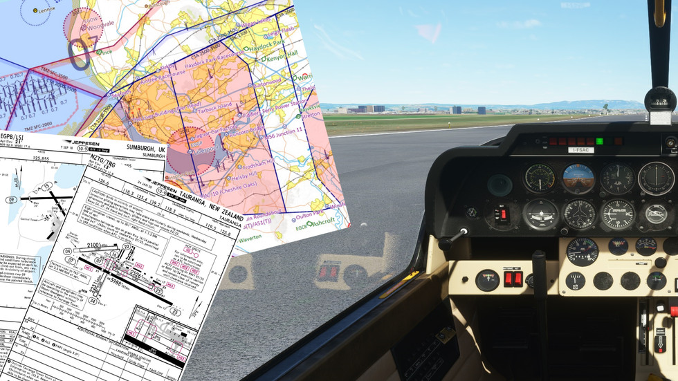 SkyDemon Maps and Jeppesen Charts included