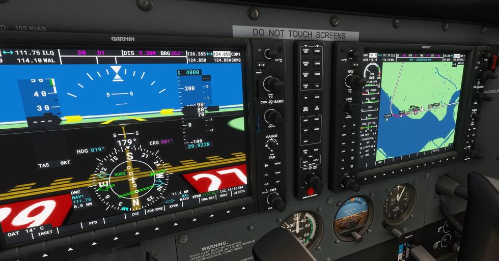 Analog + Glass Cockpit