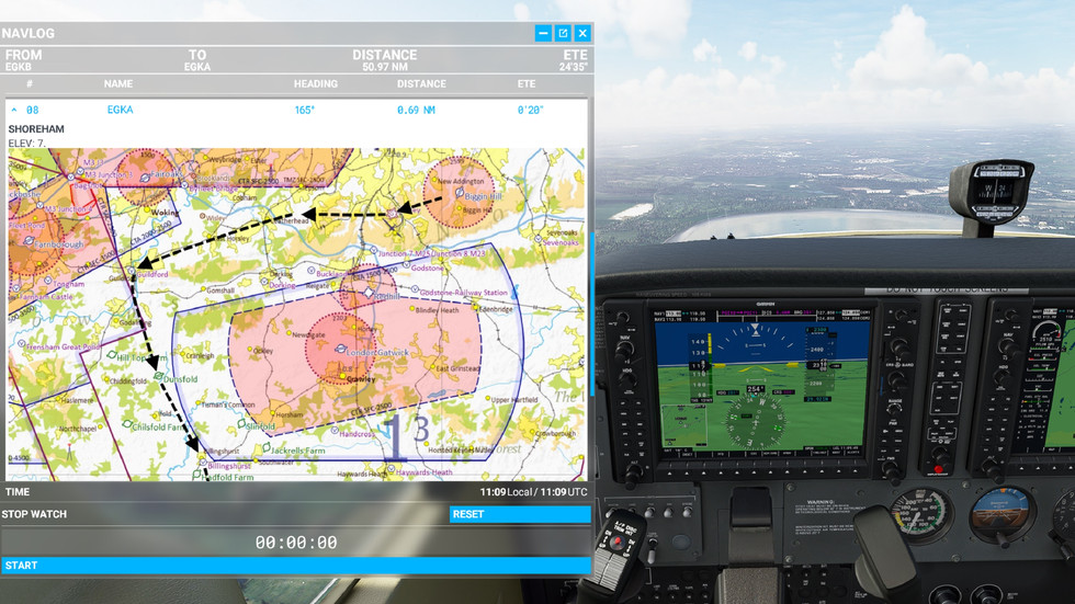 In-Flight VFR Maps and Charts