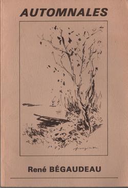 Automnales de René Bégaudeau - 1985