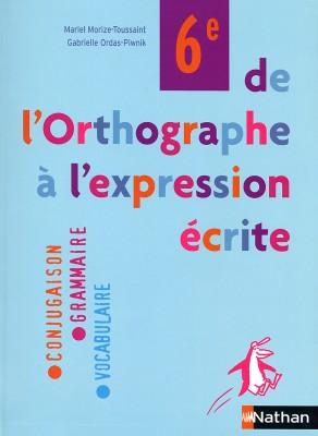 DE L'ORTHOGRAPHE... | 2005