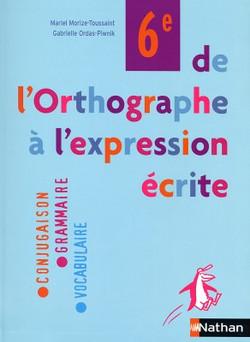 DE L'ORTHOGRAPHE...   2005