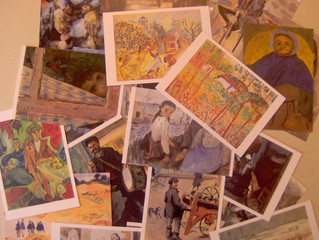 Cartes postales Le marais
