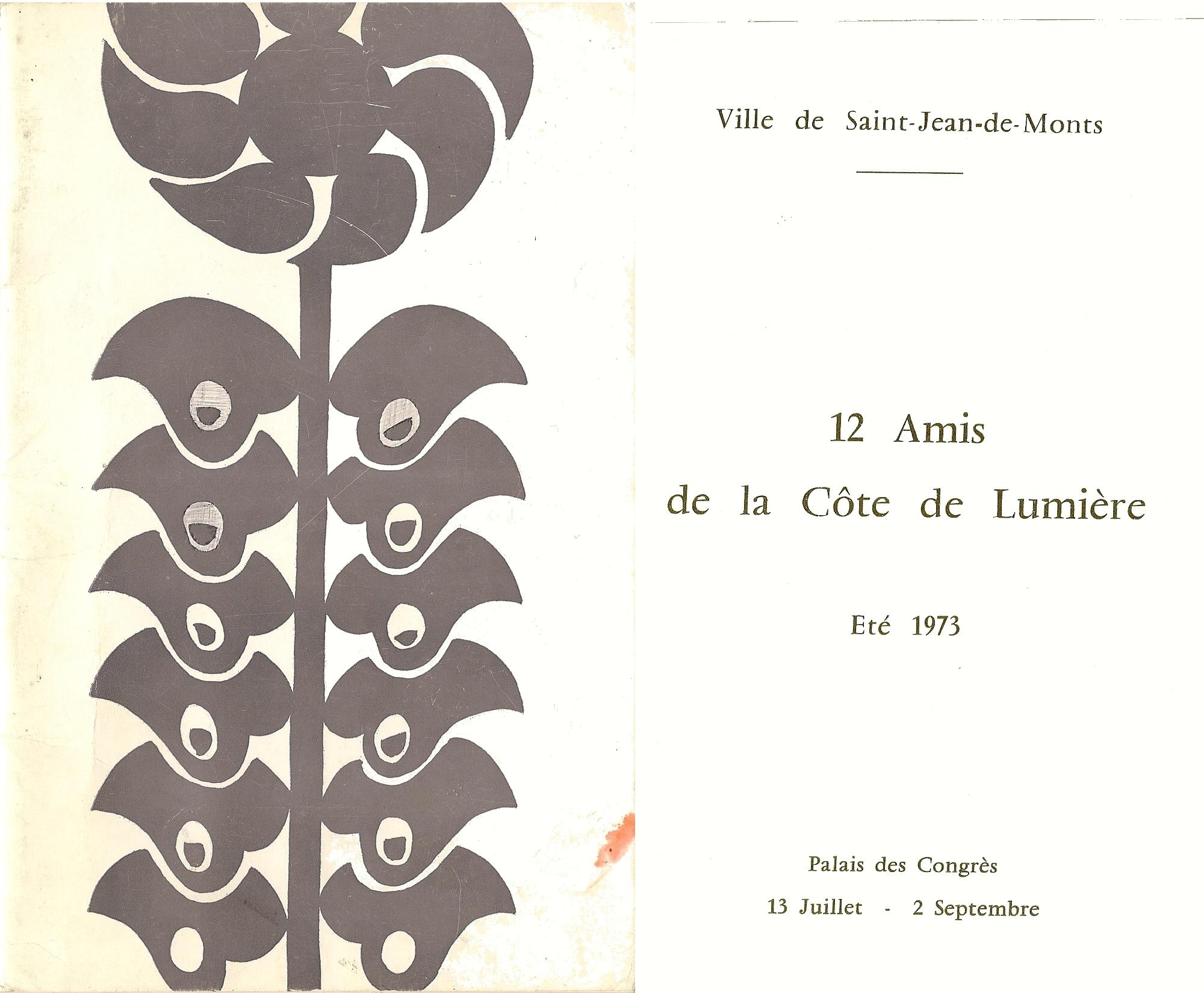 Calalogue Exposition | 1973