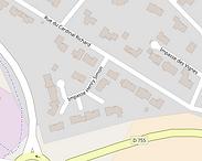 Rue Henry Simon à lla Bruffière denomination d'une rue de ville