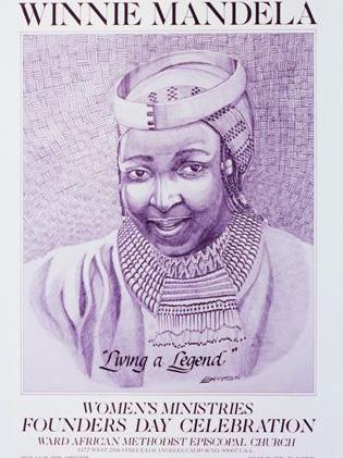 """Winnie Mandela """"Living a Legend"""""""