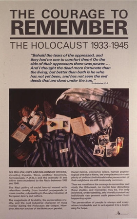 The Courage to Remember the Holocaust 1933-1945