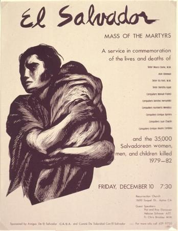 El Salvador Mass of the Martyrs