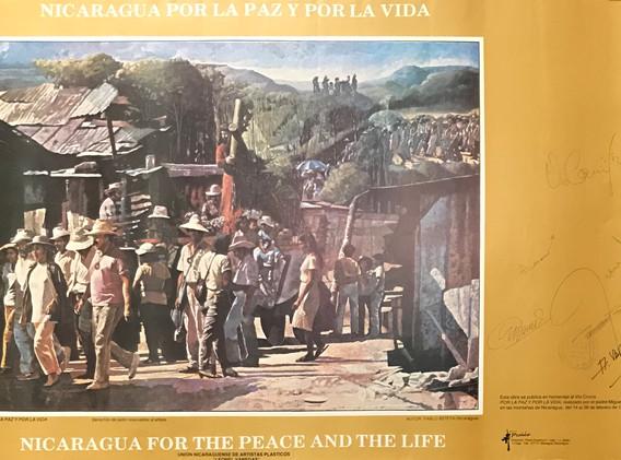 Nicaragua Por La Paz Y Por La Vida/ Nicaragua For The Peace And The Life