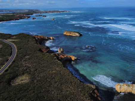 Views to take your breath away on the Great Ocean Road, Victoria, Australia