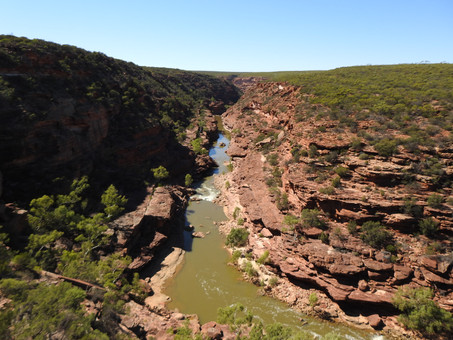 A dream come true day at Kalbarri, Western Australia