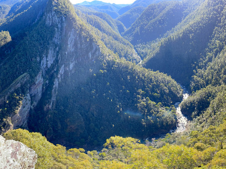 Leven Canyon is a must-see in Tasmania, Australia