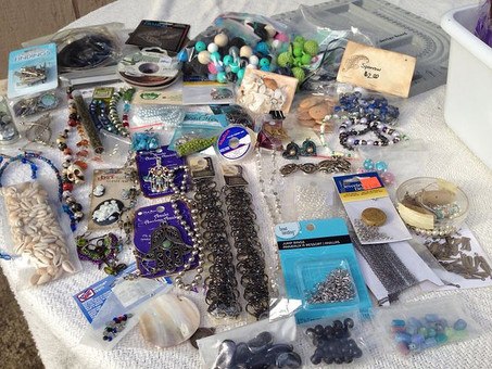 Prepare to Travel - A month to declutter - Day Ten - Craft Supplies