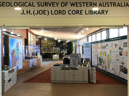 The Joe Lord core library in Kalgoorlie really rocks