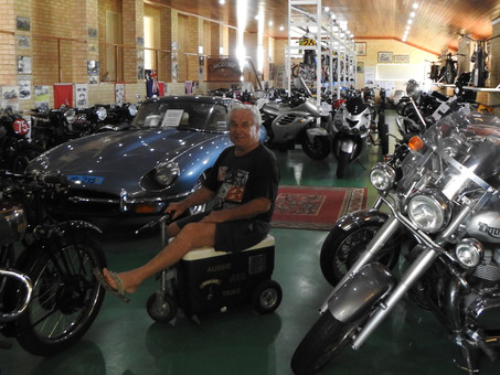 The largest Vincent motorcycle collection in the world is privately owned in Western Australia