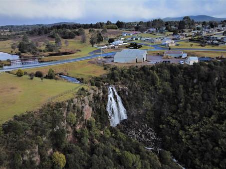 It's worth a visit to the waterfall town of Waratah in Tasmania, Australia