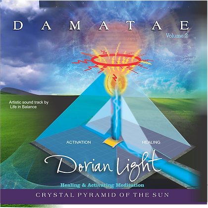"""DAMATAE Crystal Pyramid of the Sun"""