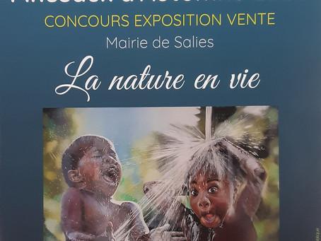 """Pinceaux d'automne 2020 - J'expose  """"L'arbre de vie"""" et """"LUMIERE"""""""