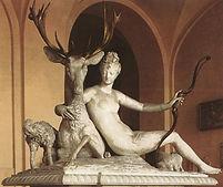1550-1554_Jean Goujon_Diana en het hert_