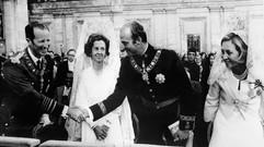 Juan Carlos und  Doña Fabiola ....