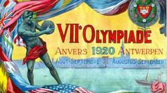 Die Olympische Sommerspiele fanden 1920 in Antwerpen statt.