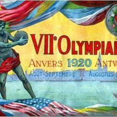 Olympischen Sommerspiele fanden 1920 in Antwerpen statt.