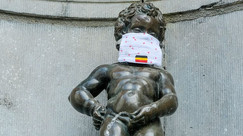 Manneken Pis, ein echter 'Brusseleir' oder 'Ketje'