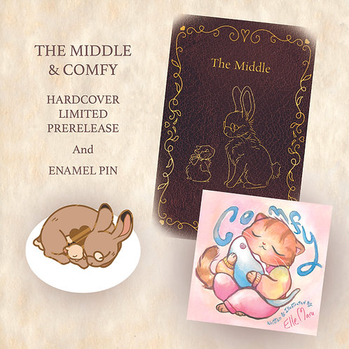 The Middle/Comfy Pin Bundle PREORDER