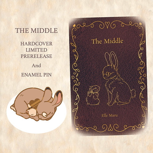 The Middle PIN and Book Bundle PREORDER