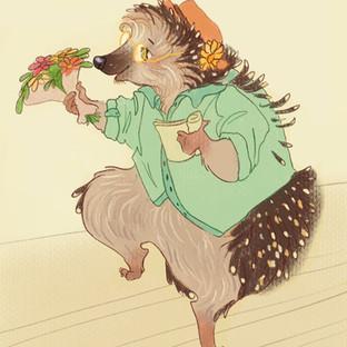 Hedgehog Thespian