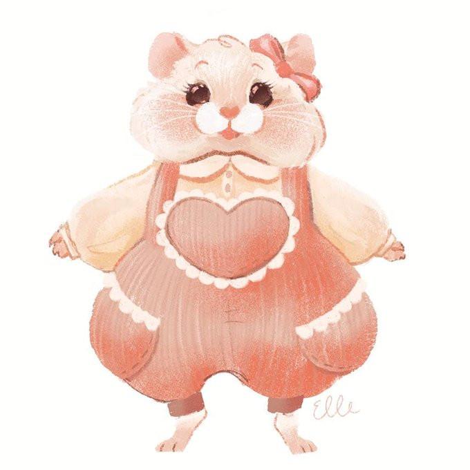 Myself as a Hamster