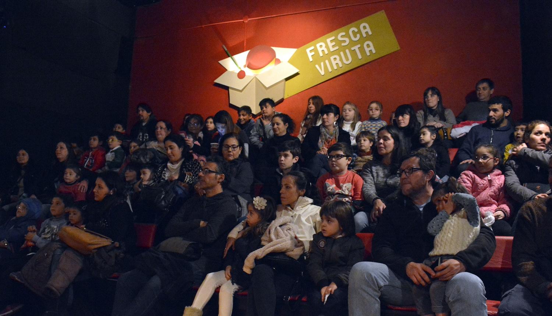 público en la sala