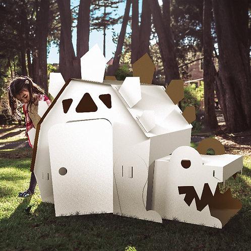 Casa Dino. Jungla de Cartón