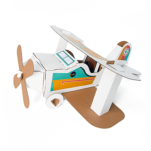 Avión planeador. Jungla de Cartón