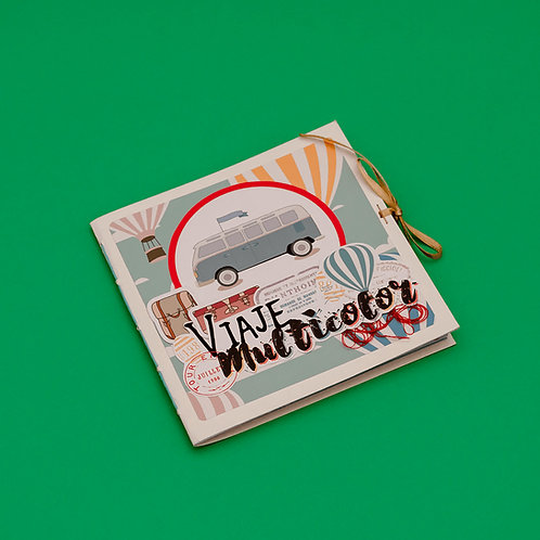 Álbum Viaje Multicolor. Jana Onzaga