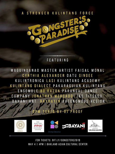 Gongsters Paradise Lineup